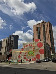 IMG_2978 (mlmck) Tags: saintpaul mural art phi nautilus summer ciel downtownsaintpaul elipse goldenratio orange green yellow blue