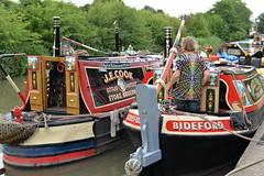 Braunston Historic Boat Show (mattgilmartin) Tags: canal narrowboat braunston historic show daventry working boats