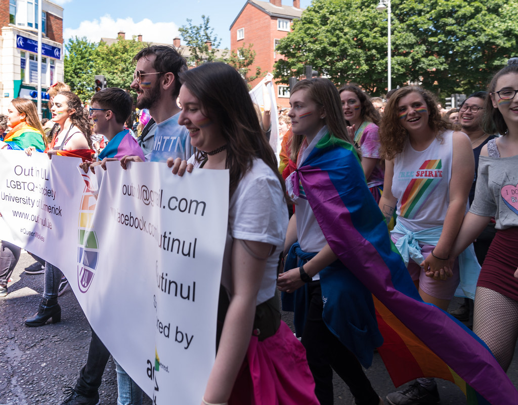 LGBTQ+ PRIDE PARADE 2017 [ON THE WAY FROM STEPHENS GREEN TO SMITHFIELD]-130061