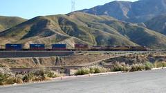 UP up Cajon Pass (flannrail) Tags: train unionpacific bnsf cajonpass cajon california mountain railroad
