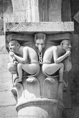 Tower of Pisa detail (www.chriskench.photography) Tags: carving art 18135 italy italia wwwchriskenchphotography fujifilm blackwhite pisa tuscany monochrome toscana xt2 kenchie europe bw travel it
