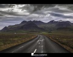 Icelandic landscape (Yiannis Chatzitheodorou) Tags: iceland ισλανδία landscape clouds travel road