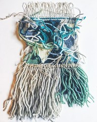 (jenschuetz) Tags: weaving woven tapestry fiber textile pattern hobby craft diy handmade stitch weave decor decoration wallhanging art yarn