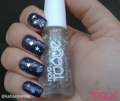 Glitter Constelação (Novo Toque) (katiaemanias) Tags: esmaltenovotoque esmaltes esmalte glitter katiaemanias polish nailpolish nails novotoque nail nailart unhas unha