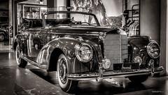 Mercedes Benz 300 S - W188 I Cabriolet Bj. 1954 (Werner Thorenz) Tags: mercedes mercedesbenz 300s mercedes300s mercedesbenz300s oldtimer mercedesoldtimer düsseldorf classicremise meilenwerk