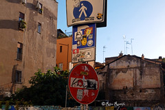 Roma. Trastevere. Sticker art by OneMatch, TAK, Feroci, JBRock, Merioone, 5toker, BloodPurple, Tzing Tao, TadhBoy, K2m, 1nessuno100mila, ... (R come Rit@) Tags: italia italy roma rome ritarestifo photography streetphotography urbanexploration exploration urbex streetart arte art arteurbana streetartphotography urbanart urban wall walls wallart graffiti graff graffitiart muro muri artwork streetartroma streetartrome romestreetart romastreetart graffitiroma graffitirome romegraffiti romeurbanart urbanartroma streetartitaly italystreetart contemporaryart artecontemporanea artedistrada underground onematch tak feroci jbrock merioone 5toker bloodpurple tzingtao tadhboy k2m gianlucamaroli lhommeless 1nessuno100mila trastevere rionetrastevere sticker stickers stickerart stickerbomb stickervandal slapart label labels adesivi slaps signscommunication roadsign segnalistradali signposts trafficsignals