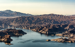 Terrestrial (jack.swinkels) Tags: lake landscape ground mountains rocks view scenery scenic water blue brown sky mead nevada grand canyon dam arizona usa america united states shades shadow shade