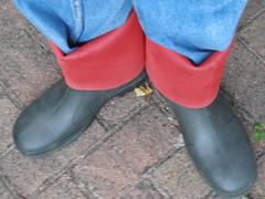 DUNLOP      Purofort   D        do groen  111 (stevelman14) Tags: dunlop purofort groenrood laarzen schoon omslag poseren outdoor