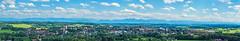 Alpenpanorama - Ebersberg (MichaelHofmann2703) Tags: 2017 ebersberg oberbayern alpen panorama berge natur view aussichtsturm germany deutschland bavaria mountains alpes