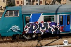 http://stolenstuff.it  Pms (stolenstuff) Tags: stolenstuff graffitiblog check4stolen running diretto pms graffiti graffititrain benching