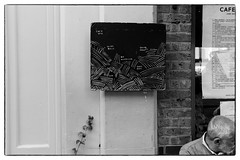 Clive Bell/Rie Nakajima/Sylvia Hallett/David Ross @ Cafe Oto, London, 14th June 2017 (fabiolug) Tags: blackboard billboard board cafeotoblackboard ashwinst ashwinstreet handwriting handwritten clivebell rienakajima sylviahallett davidross improv improvisation cafeoto london dalston music gig performance concert live livemusic leicammonochrom mmonochrom monochrom leicamonochrom leica leicam rangefinder blackandwhite blackwhite bw monochrome biancoenero 35mmsummicronasph 35mmf2summicronasph summicronm35mmf2asph summicron35mmf2asph 35mm summicron leicasummicron leica35mm