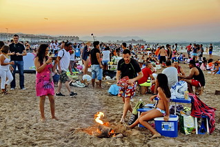 Night Beach Fun & BBQ