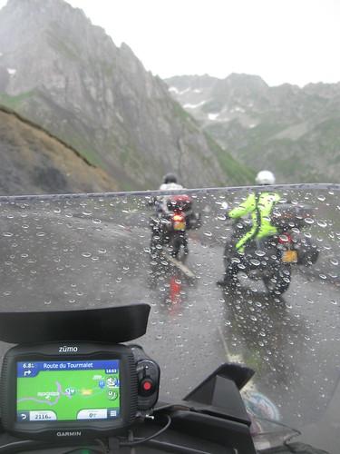 2017-06 Picos en Pyreneeën natte ruit op de col du Tourmalet