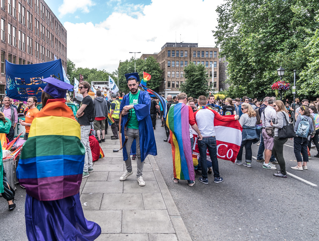 LGBTQ+ PRIDE PARADE 2017 [STEPHENS GREEN BEFORE THE ACTUAL PARADE]-129753