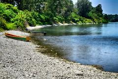 Barche al fiume Po (Gianni Armano) Tags: barche al fiume po mugarone alessandria piemonte italia foto gianni armano photo flickr