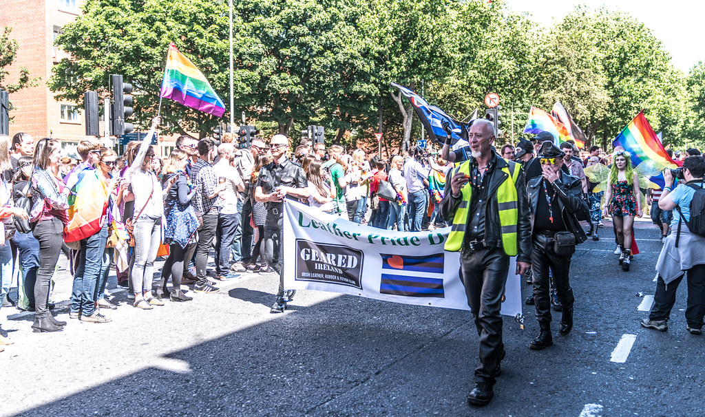 LGBTQ+ PRIDE PARADE 2017 [ON THE WAY FROM STEPHENS GREEN TO SMITHFIELD]-130036