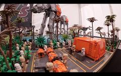 LEGO STAR WARS EPIC BATTLE ON SCARIF MOC ROGUE ONE (schmidtproject) Tags: lego star wars epic battle on scarif moc rogue one atact atat atst rogueone starwars stormtrooper imperiumdersteine imperium rebellen rebels rebel empire shoretrooper uwing xwing fighter legostarwars legostarwarsrogueone