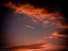 Red sky / červená obloha (boehmischedoerfer) Tags: cesko tschechien tschechischerepublik natur herbst sommer himmel wald abend sonnenuntergang fluss reka česko czechrepublic