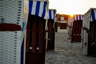 Ein Strandtag geht zu Ende - A beach day comes to an end