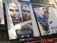 Valerian and the City of a Thousand Planets Billboard Poster 7958 (Brechtbug) Tags: valerian city thousand planets billboard poster times square nyc 2017 french science fiction comics series from 1967 valérian laureline written by pierre christin illustrated jeanclaude mézières film movie directed luc besson new york 06262017