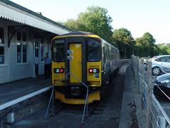 153372 Liskeard (4) (Marky7890) Tags: gwr 153372 class153 supersprinter liskeard 2l34 railway cornwall train looevalleyline