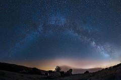 Milky Way Panoramic (Domi Art Photography) Tags: milkyway milky way night nightscape nightshot galaxy etoiles stars voielactée