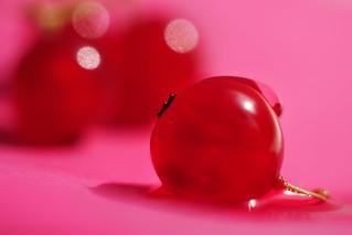 Red balloon. Tasty.