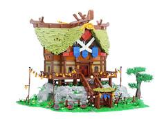 Impa's House (Legopard) Tags: zelda lego botw breath wild