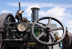 Owd Joe 02 jul 17 (Shaun the grime lover) Tags: detail engine machinery vehicle wheel cheshire daresbury steam fair traction summer chimney pressure gauge valve
