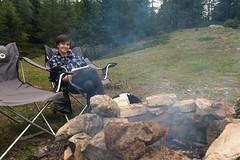 Relax nei boschi-30 ( YariGhidone ) Tags: rosso cesana lago nero claviere monti della luna van life vanlife campe furgone vita avventure adventure campfire camping wildlife wild camper