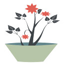gsagri04 flower-pot1 icon (kwippe) Tags: icons clipart vector