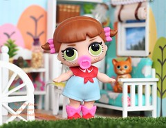 LOL Surprise Baby Line Dancer (thedollydreamer) Tags: lol surprise babies dolls mga littleoutrageouslittles linedancer common thedollydreamer bridgetdellaero diyroom countrygirl series1