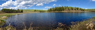 Cold Lake - Cold Lake Provinicia Park - Lagoon pano