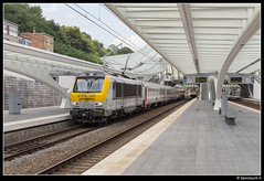 CFL 3006 - IC 114 (Spoorpunt.nl) Tags: 18 juni 2017 cfl 3006 nmbs i10 rijtuigen intercity ic trein 114 station gare liègeguillemins liège guillemins luik