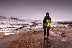 Explorer (cylynex) Tags: utah moab winter explorer travel travelphotography portrait west snowfall sunset landscape