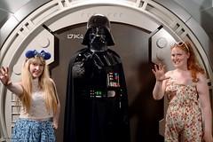 Disneyland Paris 2017 (Elysia in Wonderland) Tags: disneyland paris 2017 elysia birthday 25th anniversary 25 france darth vader meet greet character meeting star wars villain scary funny lucy force