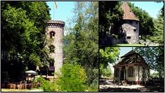 Bad Säckingen ( Diebsturm - Gallusturm - Gartenhaus im Schlosspark - (fotofaninge) Tags: bad säckingen