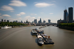 _DSC7055 (Blink_Of_An_Eye53) Tags: blackfriarsrailwaybridge blackfriarstower boats churches cities london oxotower riverthames southbanktower stpaulscathedral thecheesegrater thegherkin thewalkietalkie tower42 transport
