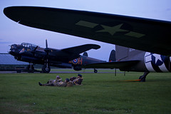 'Wing and a Prayer' (andrew_@oxford) Tags: raf east kirkby bomber command royal air force avro lancaster 1940s reenactment reenactors timeline events
