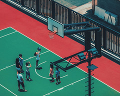 The playground (Jasonhk1920) Tags: ifttt 500px park people street health colors children kids playing game crowd athlete outdoors composition teens ball group competition sports playground action documentary basketball photography many