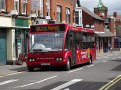 trent barton 445 Ripley (Guy Arab UF) Tags: trent barton 445 fe02kdk optare solo m920 bus grosvenor road ripley derbyshire wellglade group buses wellgladegroup
