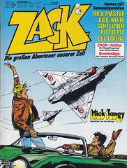 ZACK / 1978 Nr. 17 (micky the pixel) Tags: comics comic heft koralleverlag zack jijé tanguyetlaverdure micktangy pilot militär jet düsenjäger mirage