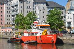 Severn Sea (Tom_bal) Tags: severn sea portishead ship nikon d90 bideford