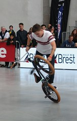 Riding Indoor Show Brest 2017 (EricFromPlab) Tags: bretagne finistère flat brest capucins breizh brittany freestyle rider jump bmx