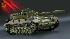 Article 64992 [3] (2che_4life) Tags: ldd lego blender mecabricks tank soviet wot