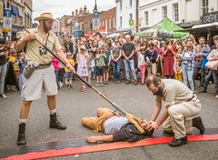 2017 gb actic england entertainers eu hampshire hatfair spectators stmauricescovert streetfair urbansafari winchester