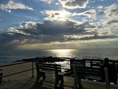 Atlantic Sunrise (tmrae) Tags: jerseyshore newjersey sunrise atlanticsunrise boardwalk pier oceangrove