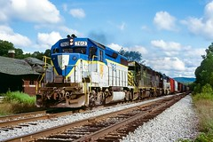 RPPY at Hallstead (douglilly) Tags: delawarehudson rppy hallstead gp392