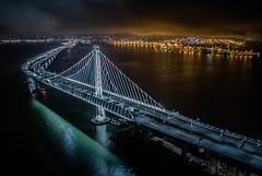 (heavenlyglorysf) Tags: san francisco oakland bay bridge night shot light 24mm span