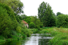 Old Mill on the Itchen near Winchester (Jayembee69) Tags: itchen river hants hampshire winchester stcross bucolic england landscape riverine mill summer english britain british uk unitedkingdom